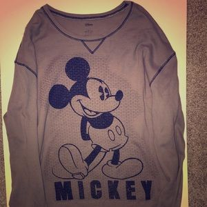 Walt Disney Store Mens XL Mickey Mouse Thermal
